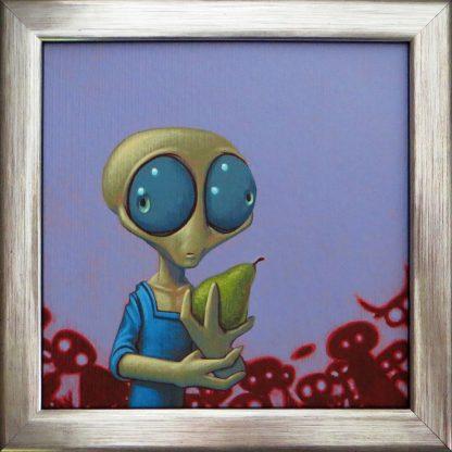 Alien met peer