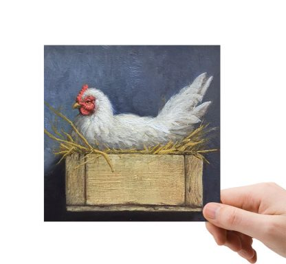 Broedende kip