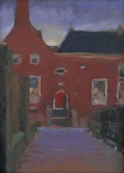De rode deur