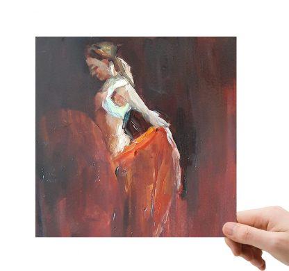 Flamenco 2 met lijst