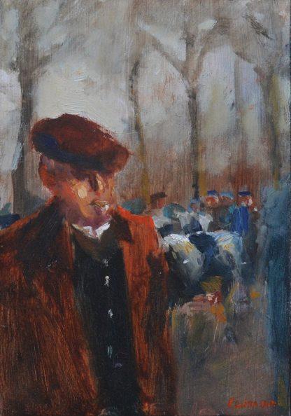 Op de veemarkt