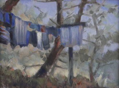Waslijn op Terschelling